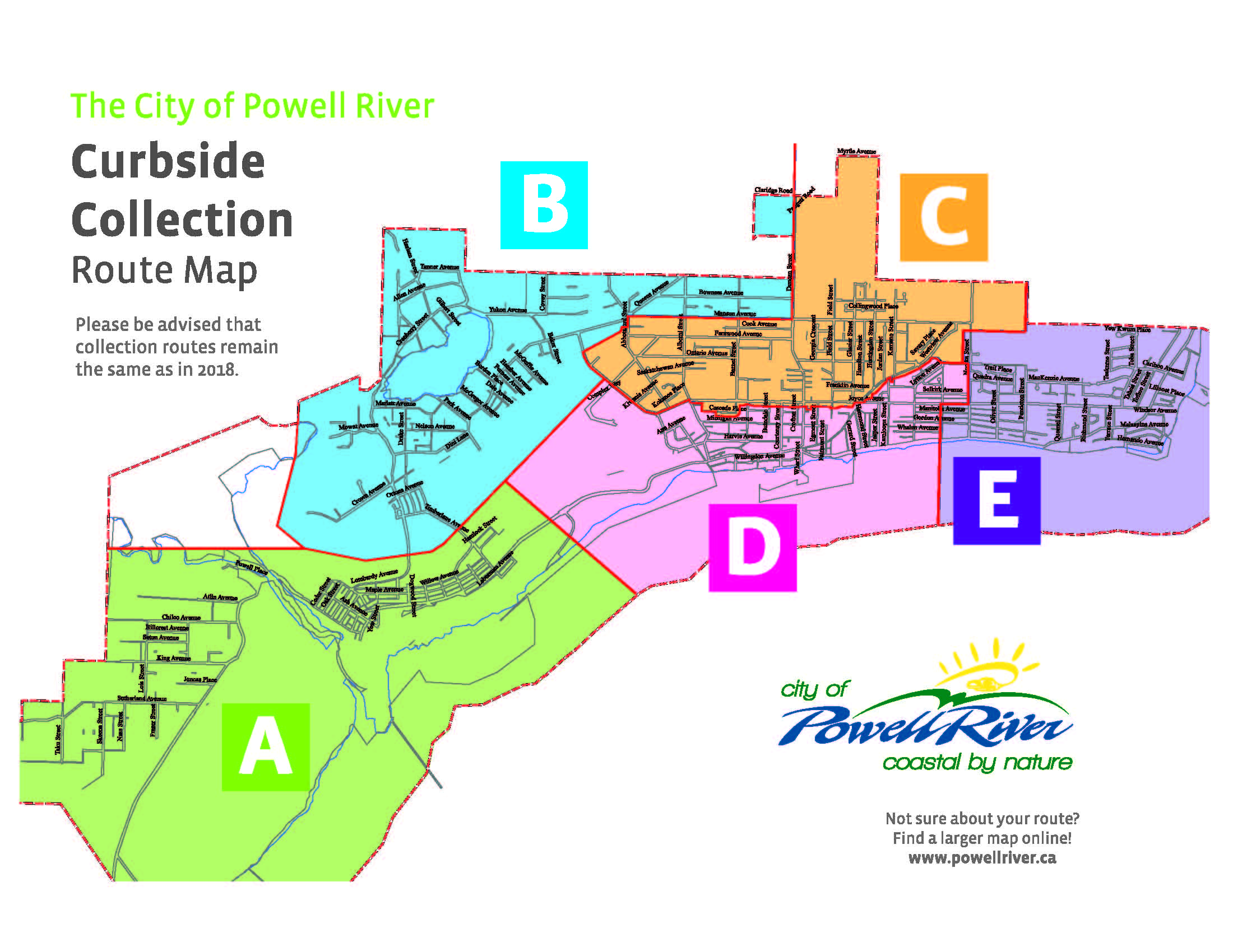 Garbage & Recycling Schedules - City of Powell River