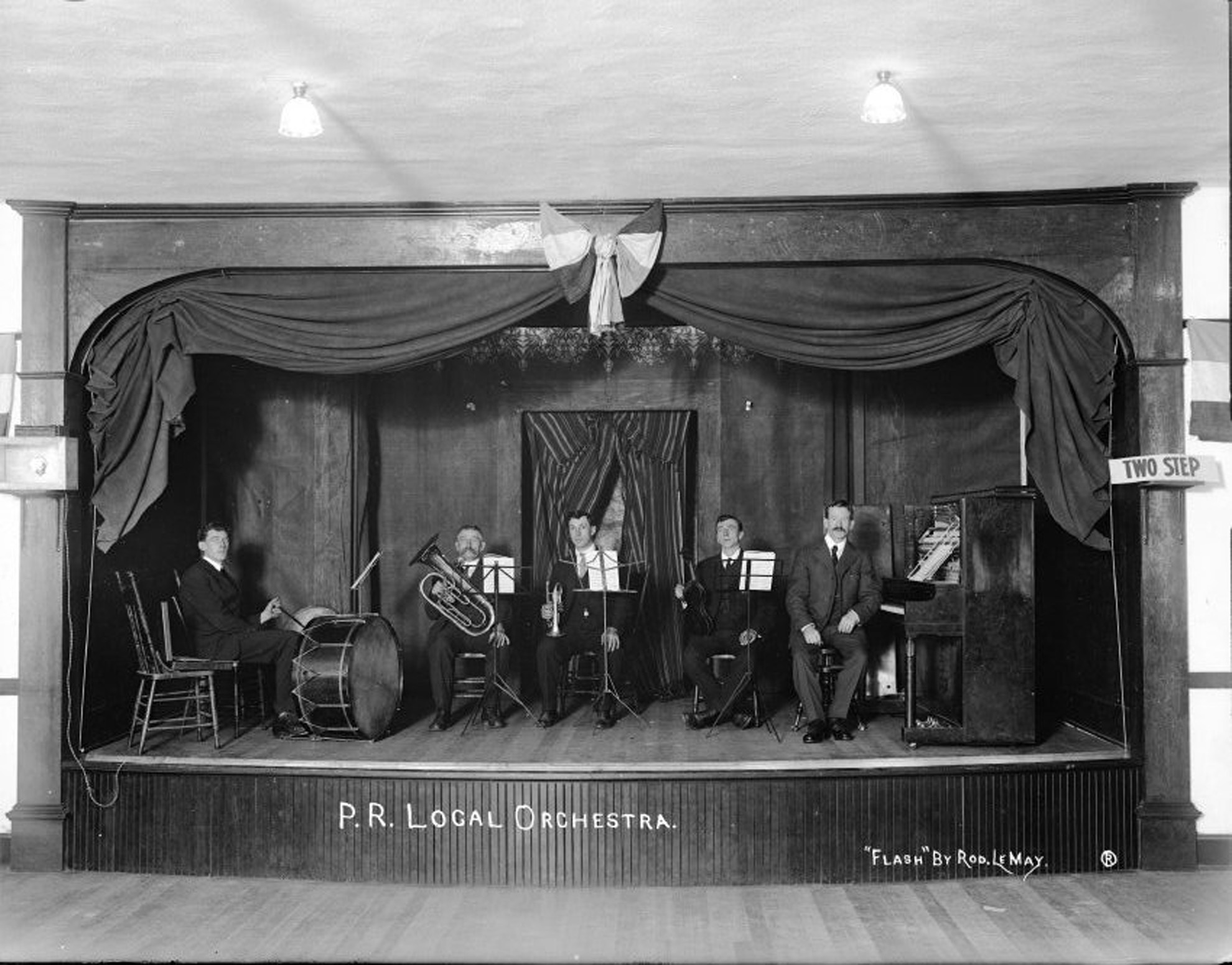 Powell River Orchestra, 1919.