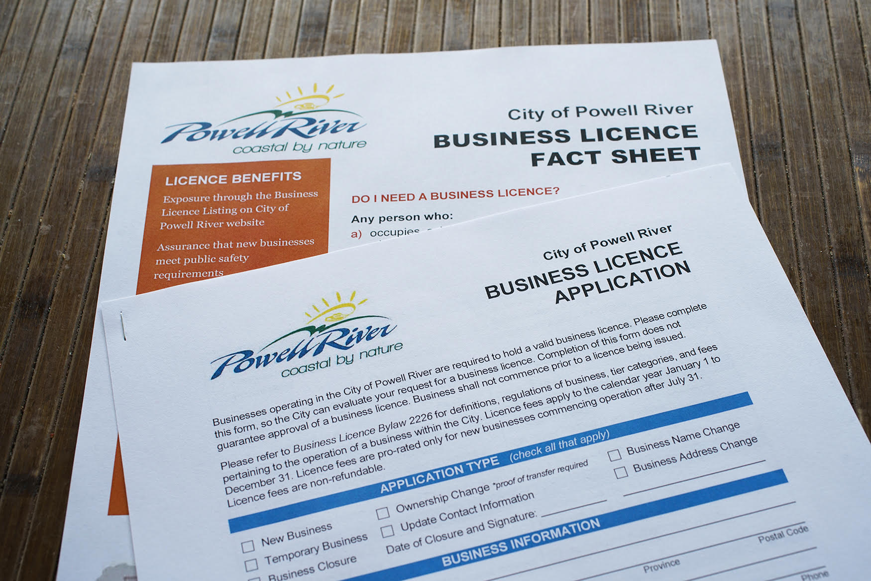Business Licences - City of Powell River