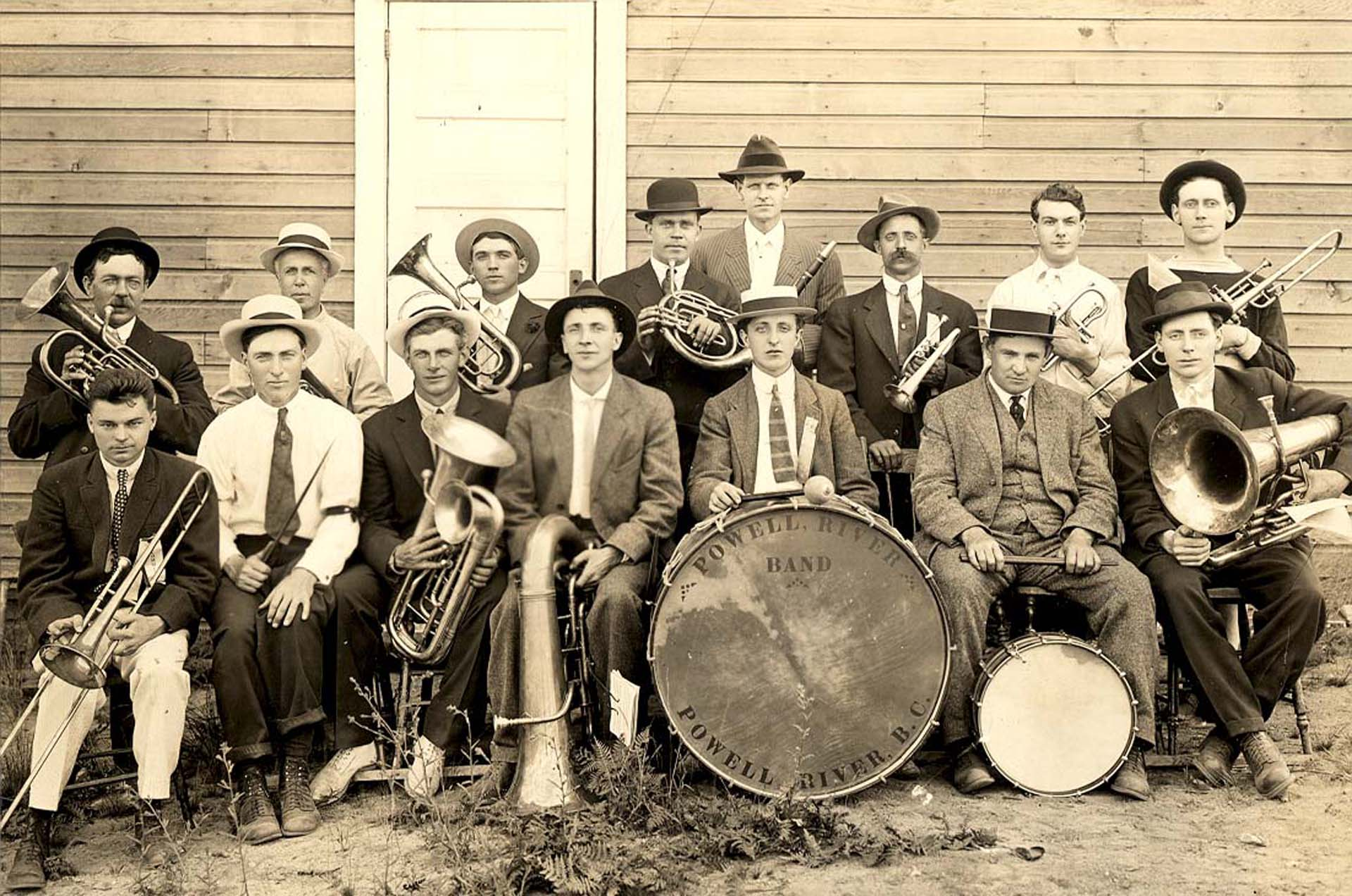 The Powell River Band 1914.
