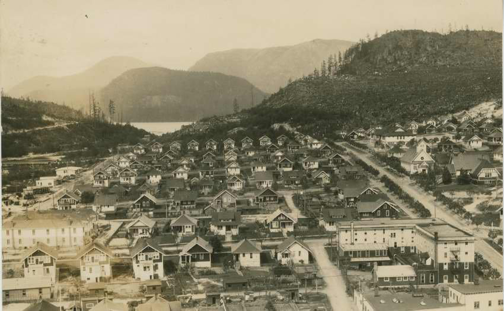 Powell River Townsite after 1914.
